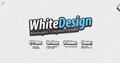 WhiteDesign Website Screenshot