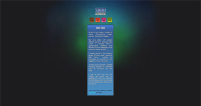 Saud Website Screenshot