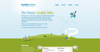 Buddytwitter Website Screenshot
