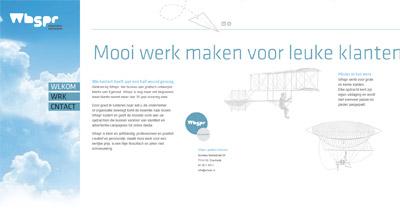 Whspr Website Screenshot