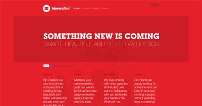 Bip Creativa Website Screenshot