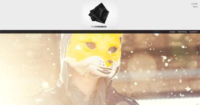 theChrisbox Website Screenshot