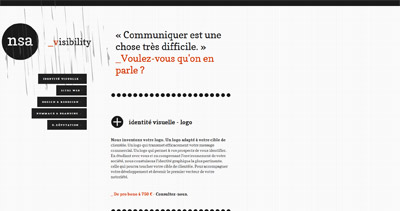 Agence Web Nsa Website Screenshot