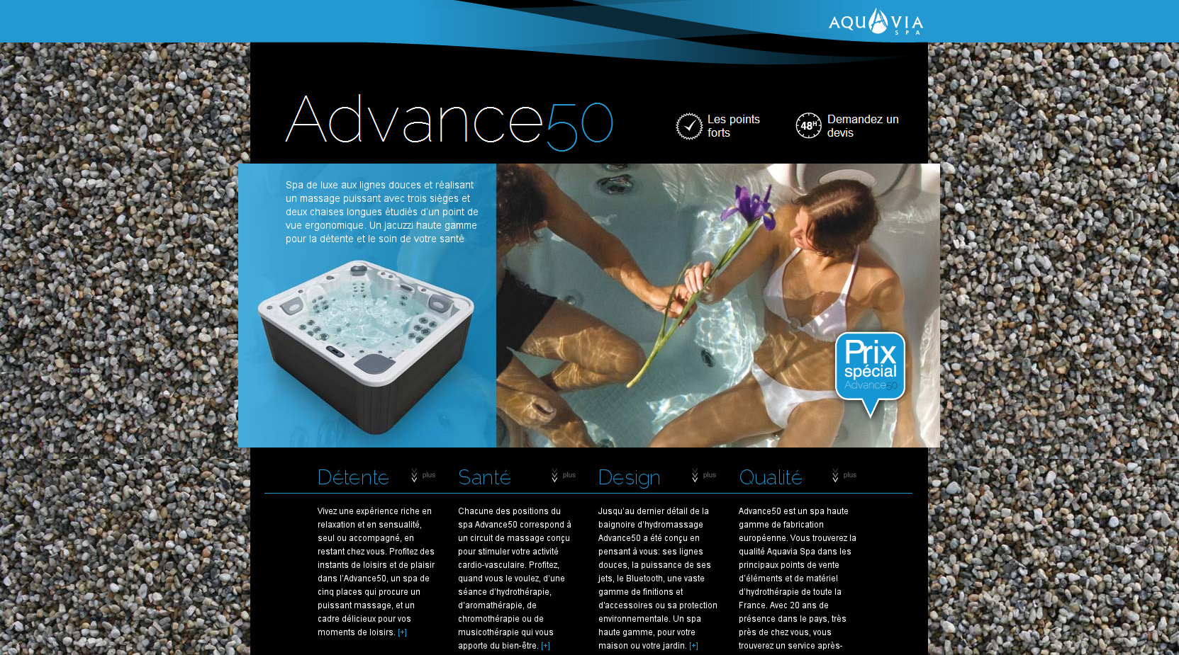 Advance50 Website Screenshot