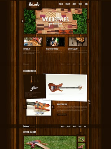 Holcomb Guitars Thumbnail Preview