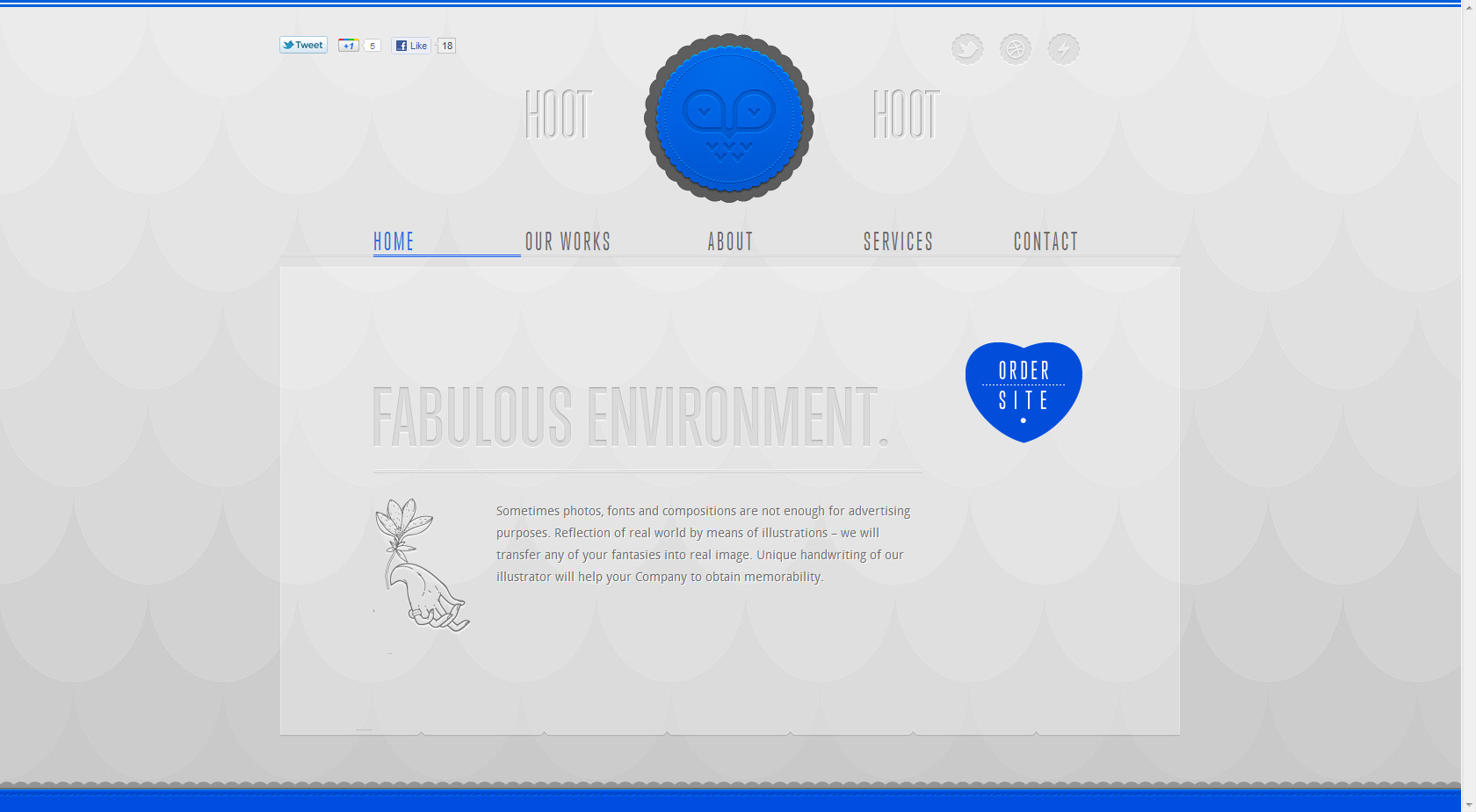 Hoot-Hoot Studio Website Screenshot