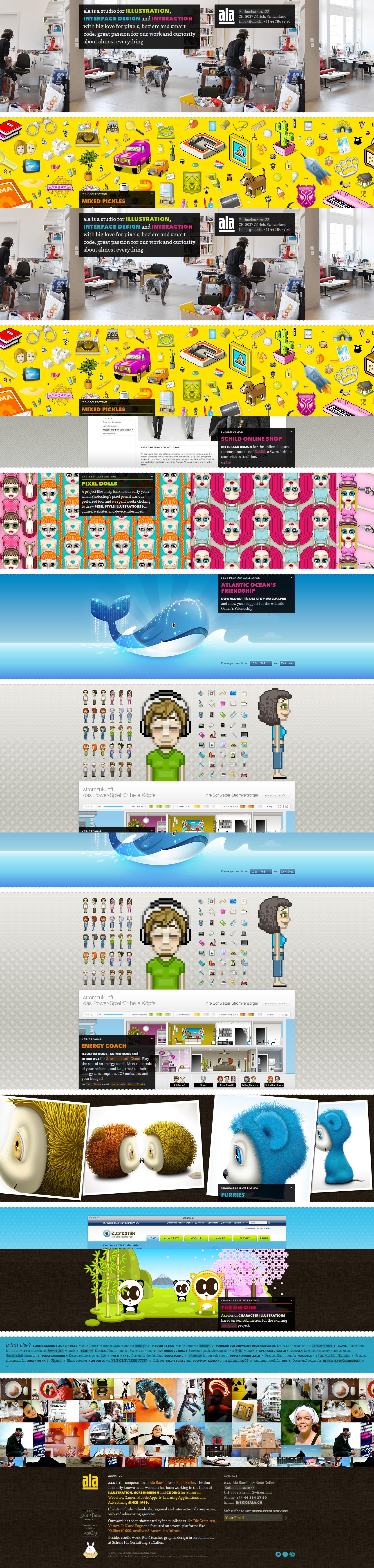 ala Website Screenshot