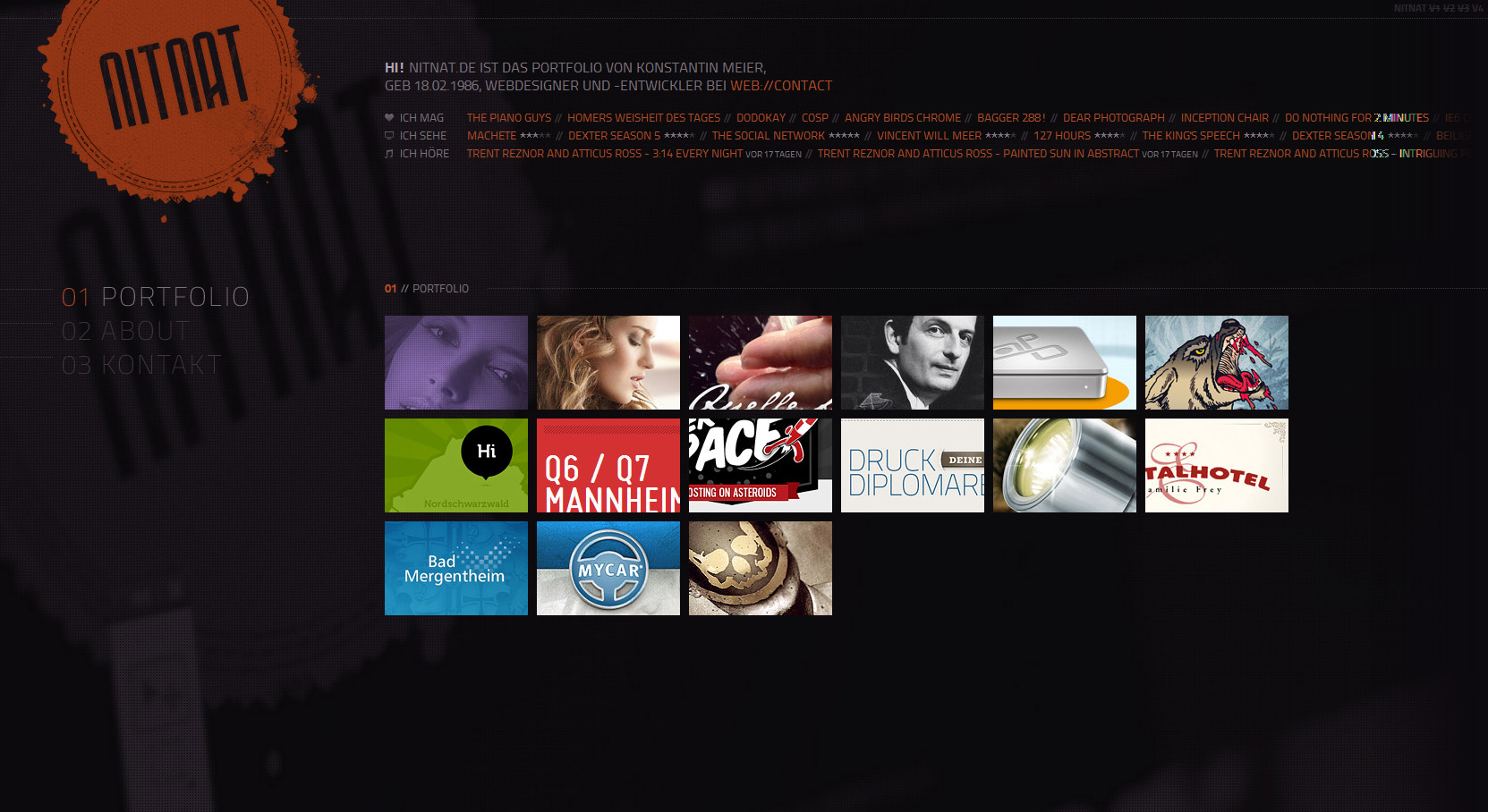 nitnat Website Screenshot