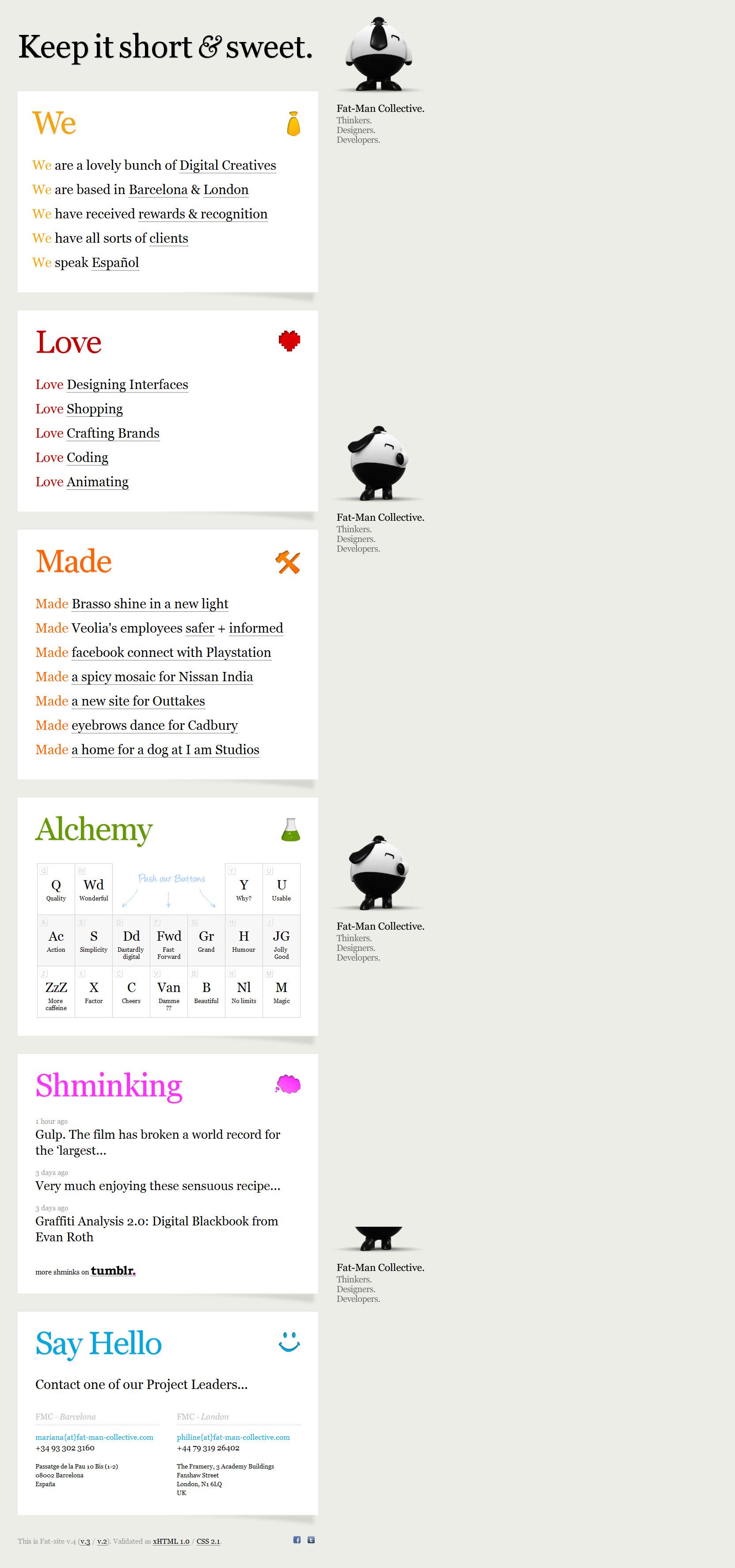 Fat-Man Collective Website Screenshot