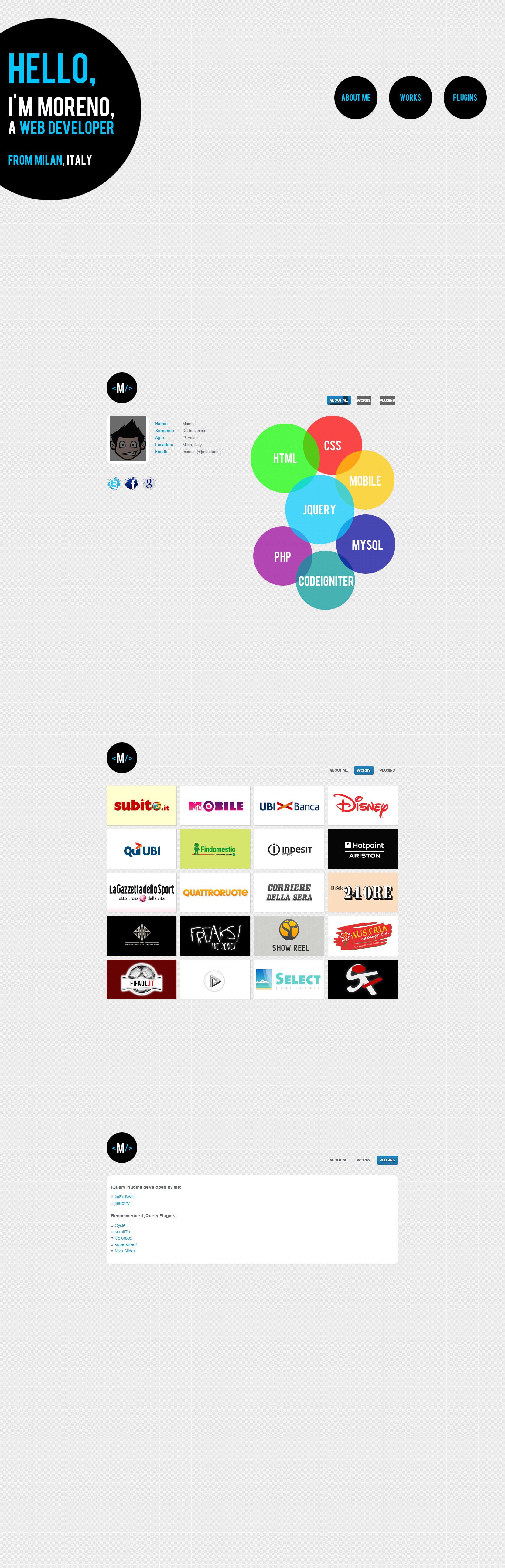 Moretech Website Screenshot
