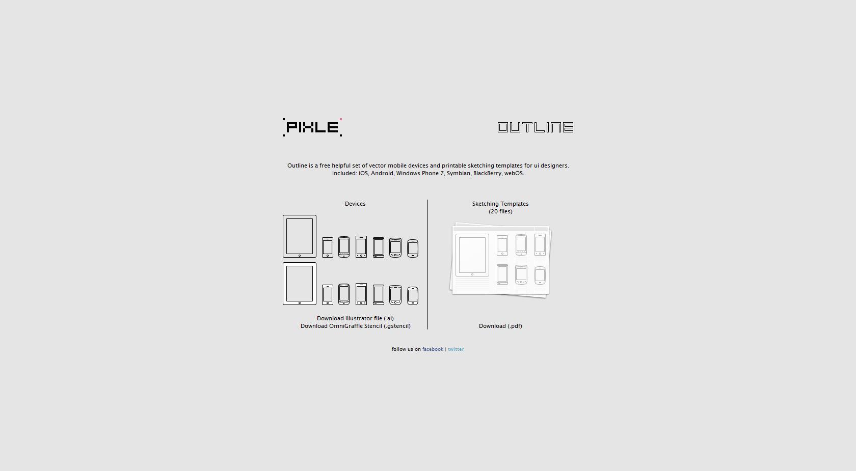 Outline Website Screenshot