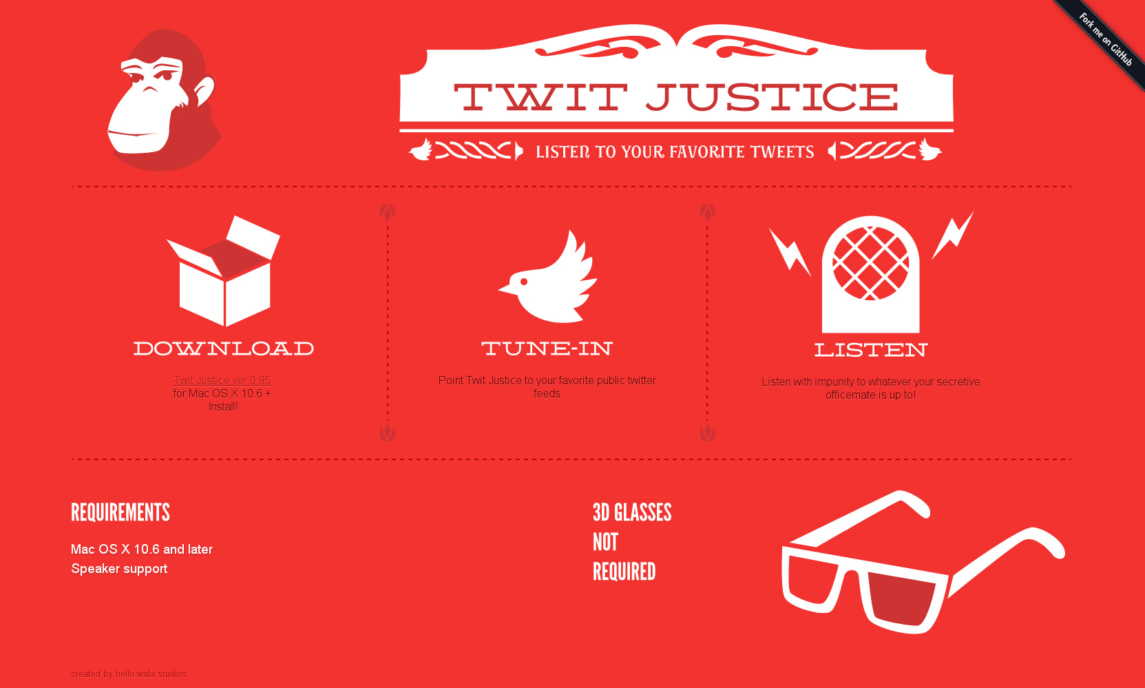 Twit Justice Website Screenshot