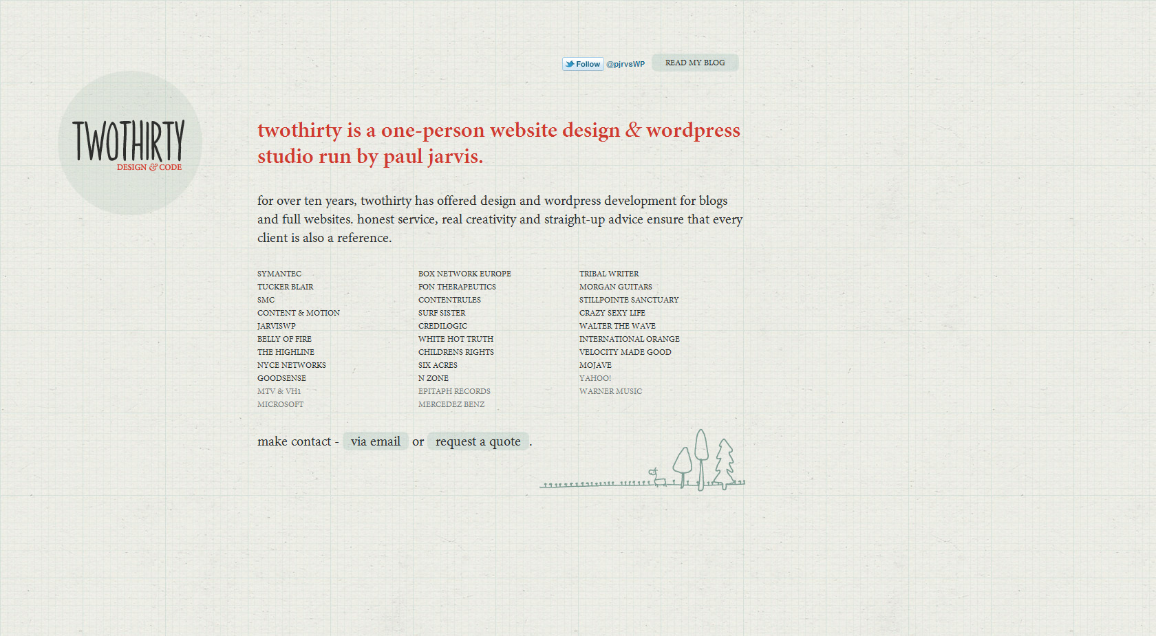 twothirty Website Screenshot