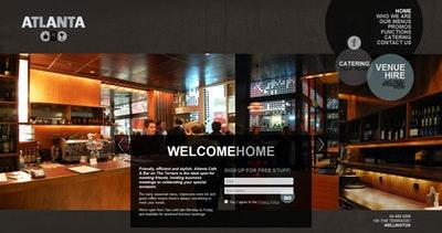 Atlanta Cafe & Bar Thumbnail Preview
