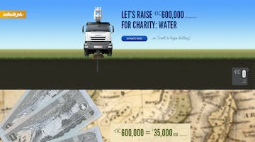 Authentic Jobs Charity: Water Campaign 2011 Thumbnail Preview