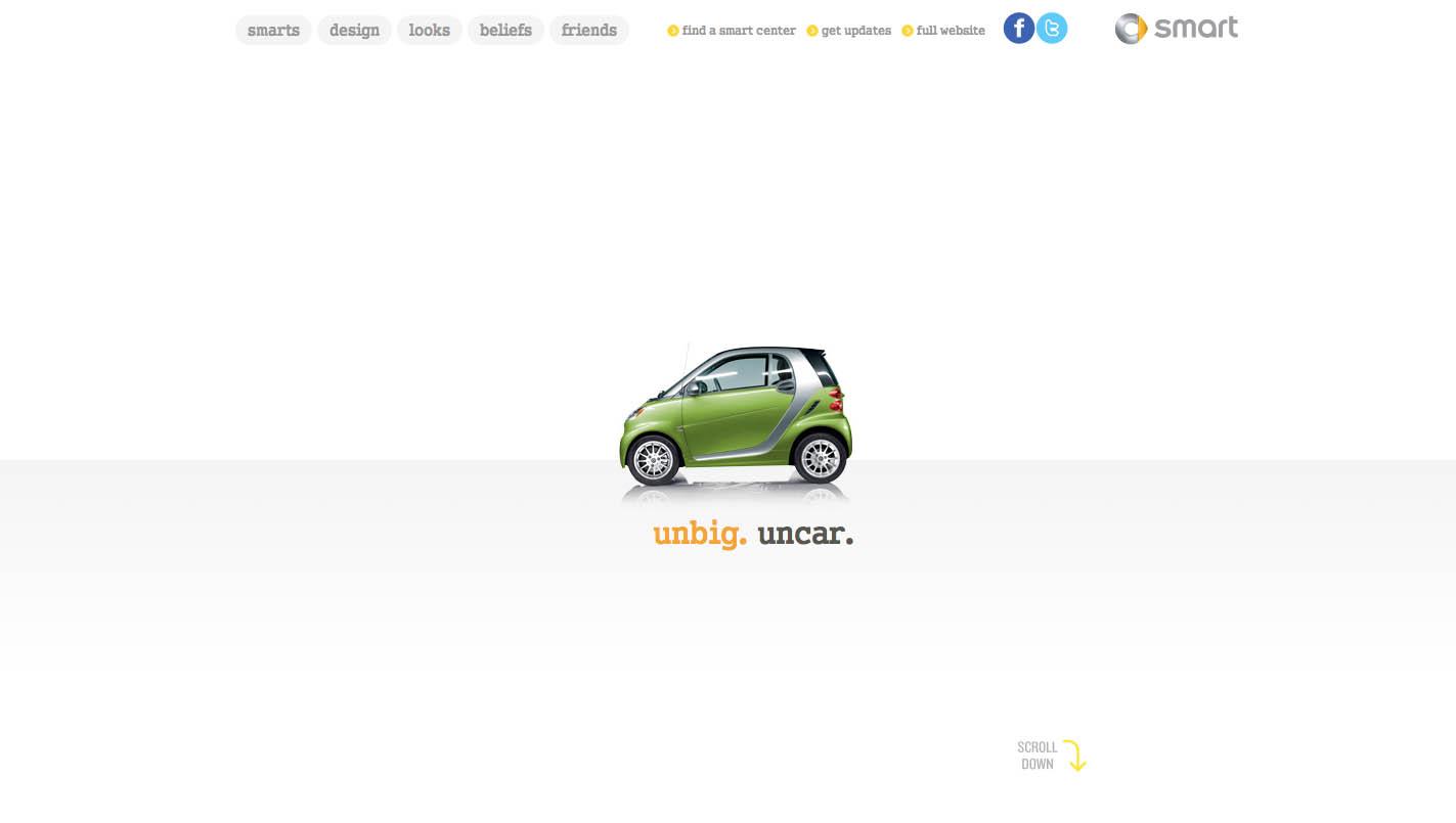smart USA Website Screenshot