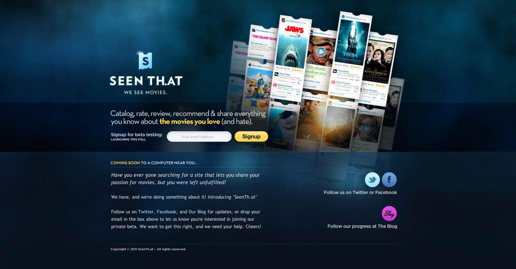Seen That Website Screenshot