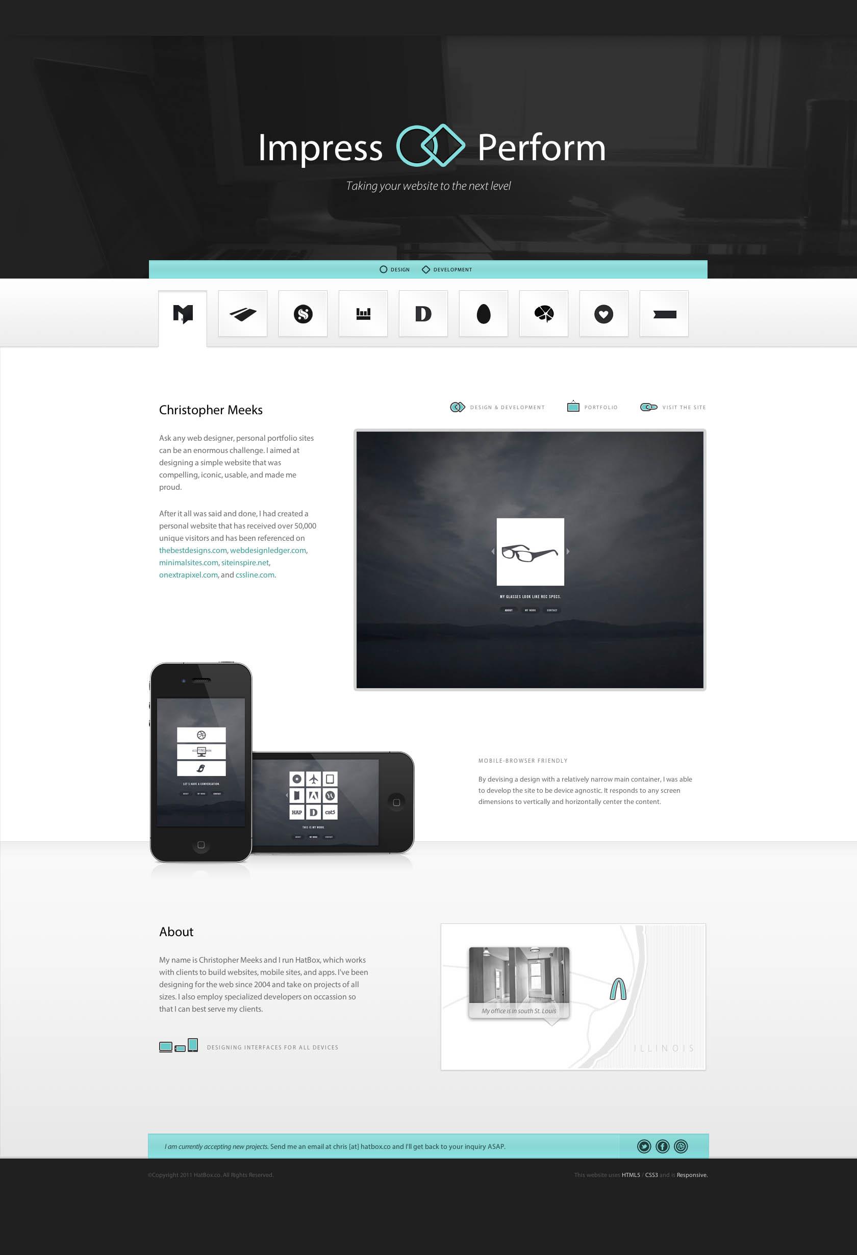 HatBox Website Screenshot