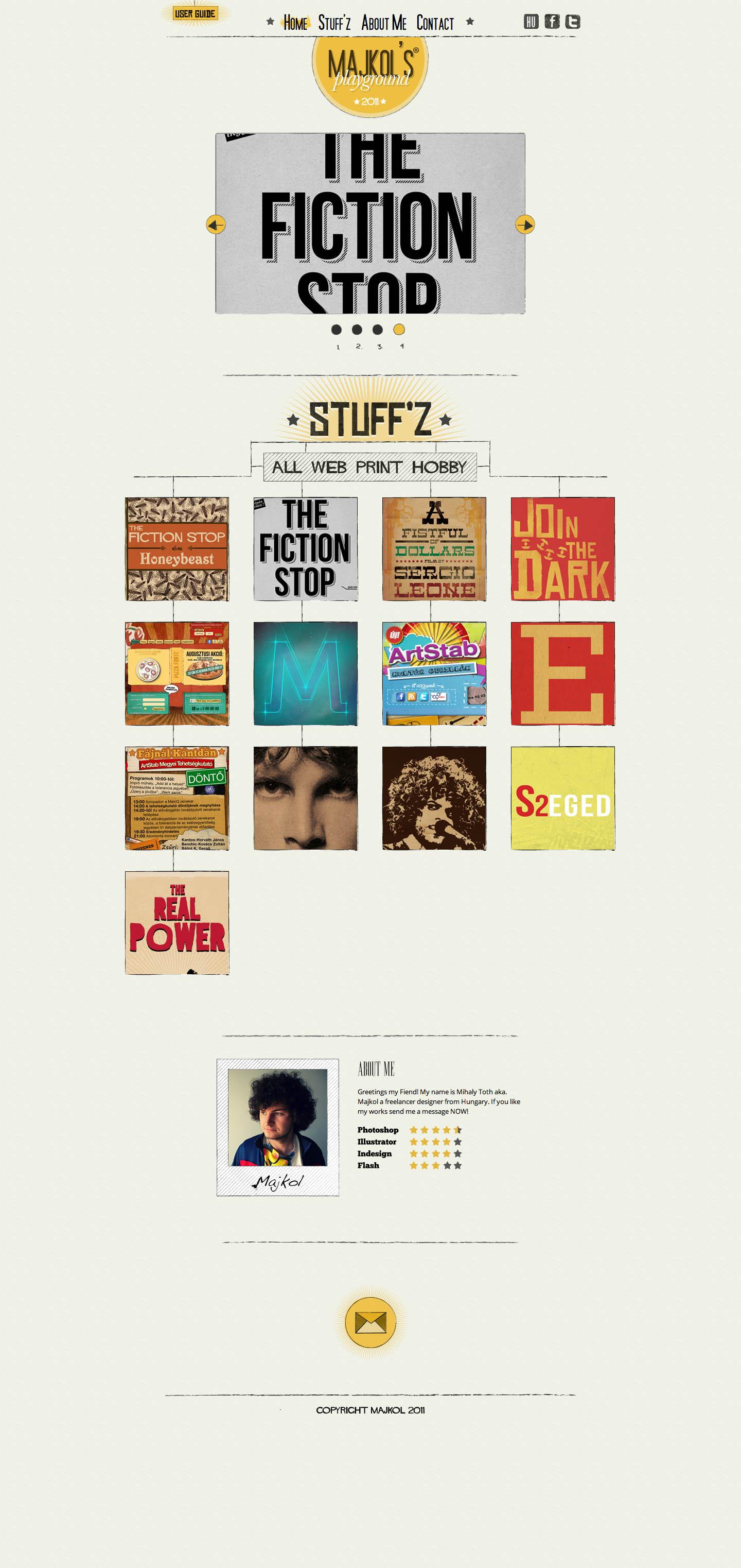 Majkol's Site Website Screenshot