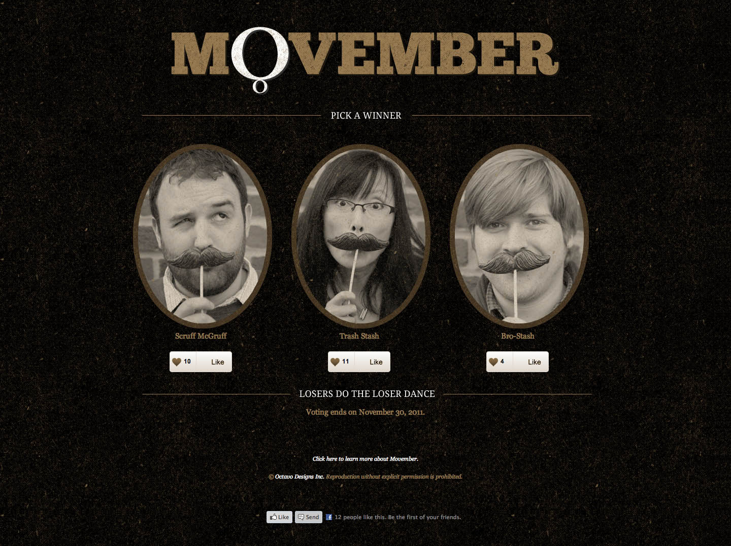 Bro-Stash, Mo-Stash Website Screenshot