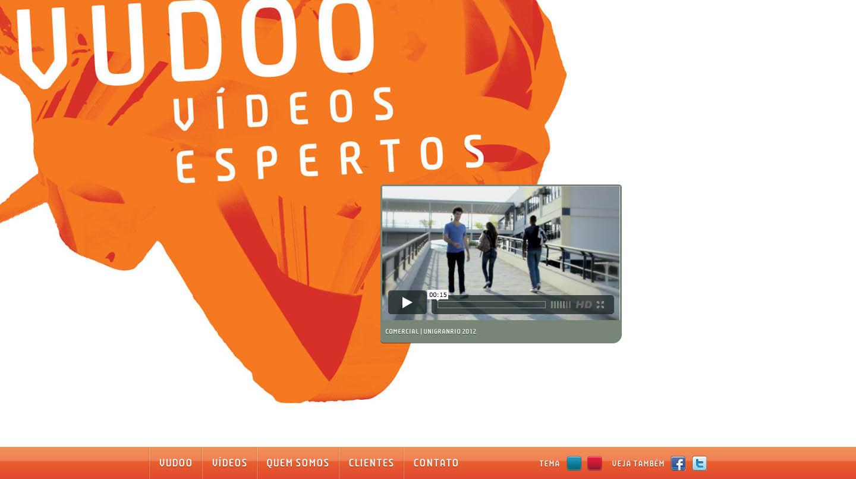 Vudoo Website Screenshot