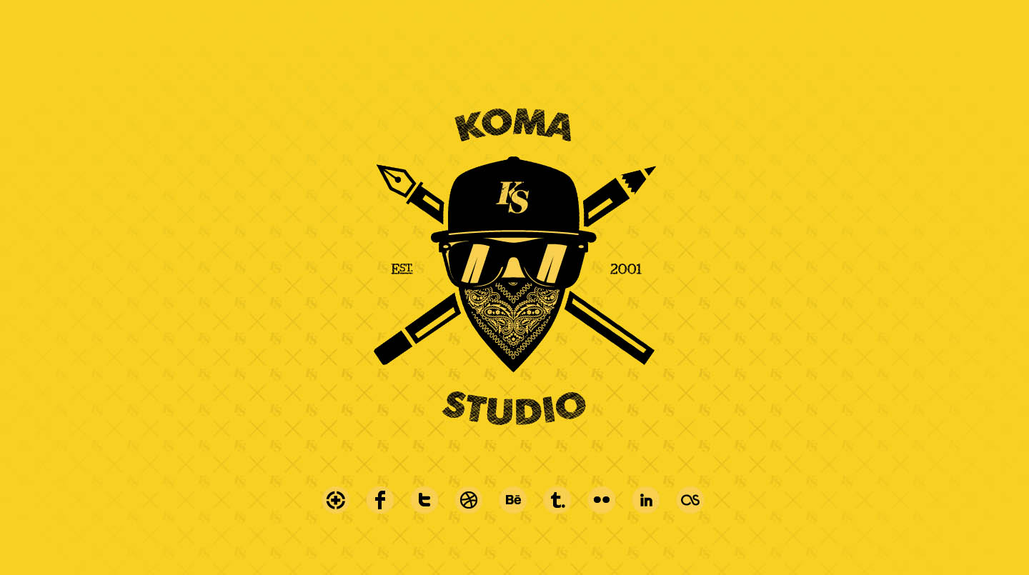 Koma Studio Website Screenshot