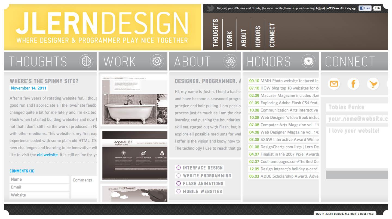 JLern Design Website Screenshot