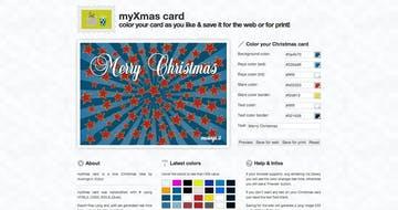 my Xmas card Thumbnail Preview