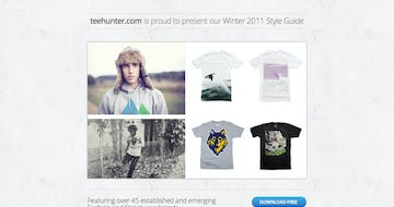 TeeHunter Winter 2011 Style Guide Thumbnail Preview