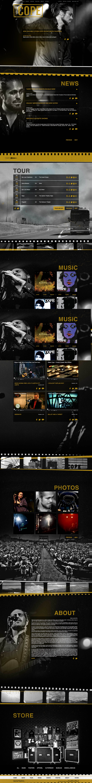 Citizen Cope Website Screenshot
