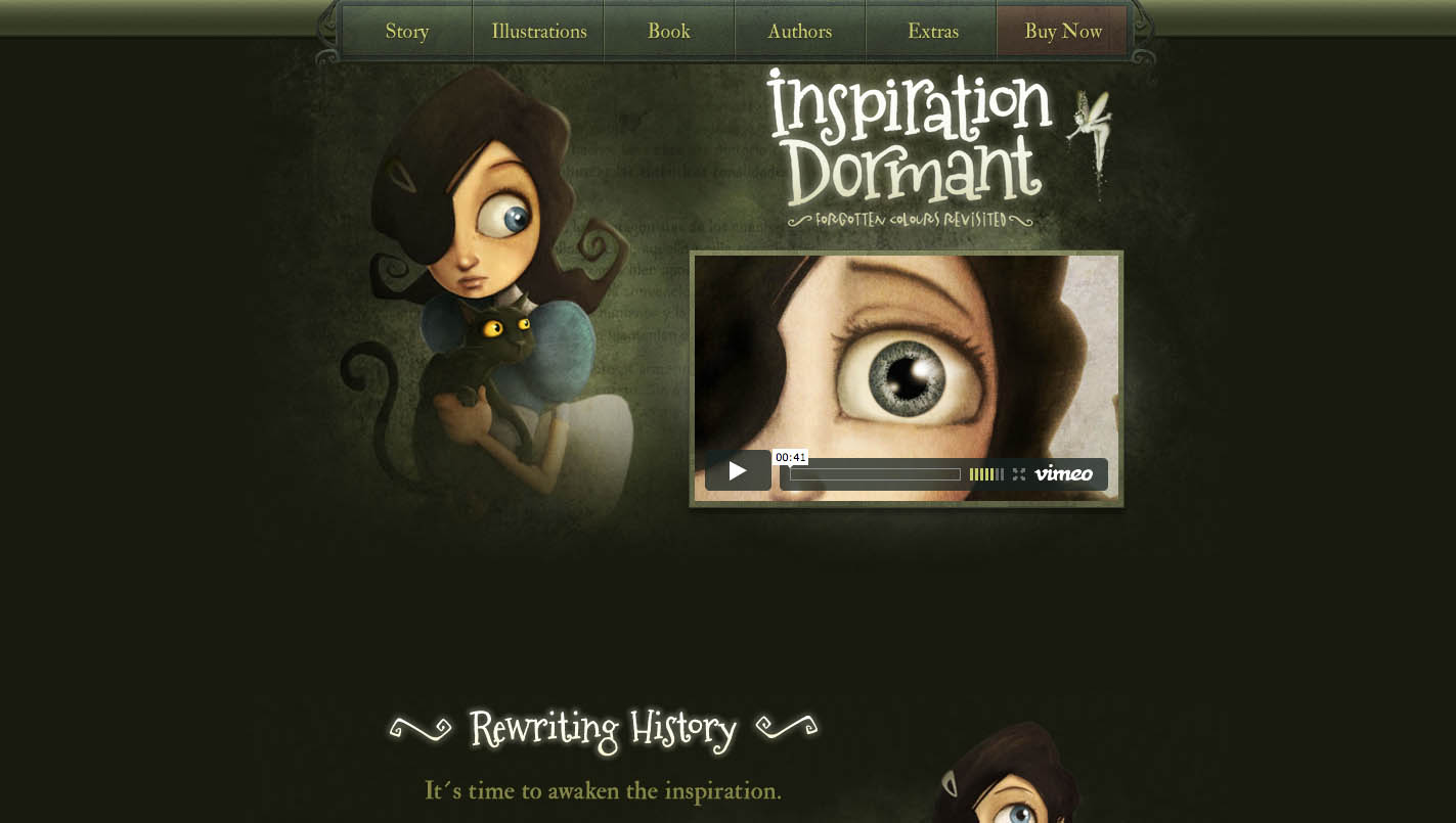Inspiration Dormant Website Screenshot