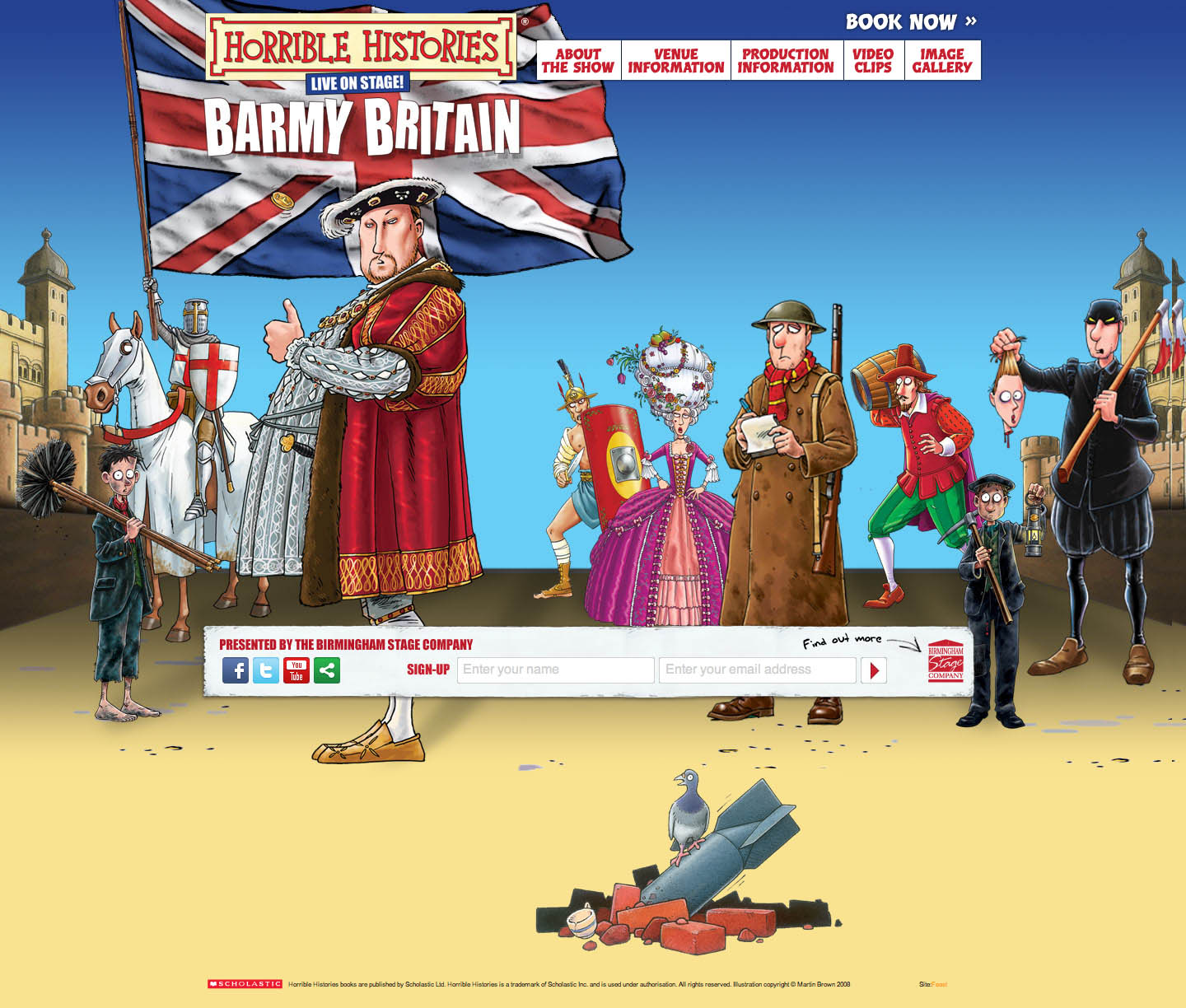 Barmy Britain Website Screenshot