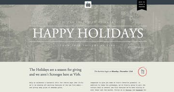 Happy Holidays from Virb Thumbnail Preview