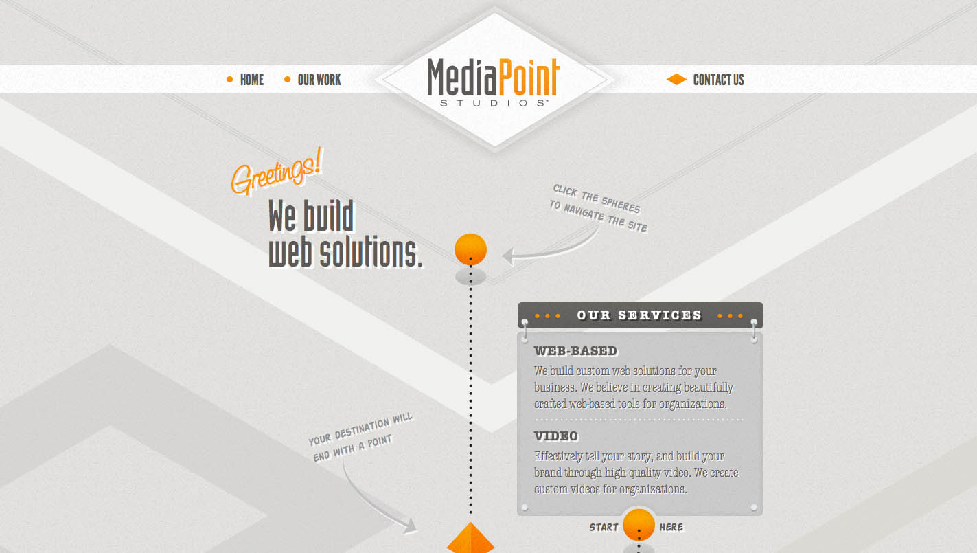 MediaPoint Studios Website Screenshot