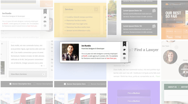 Jon Rundle Website Screenshot