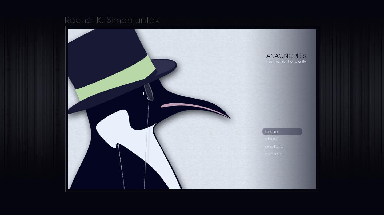 Anagnorisis Design Website Screenshot
