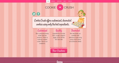 Cookie Crush Thumbnail Preview