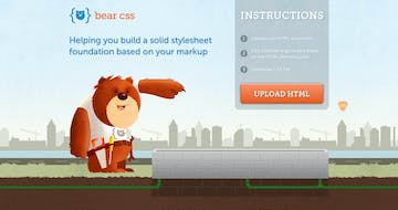 Bear CSS Thumbnail Preview