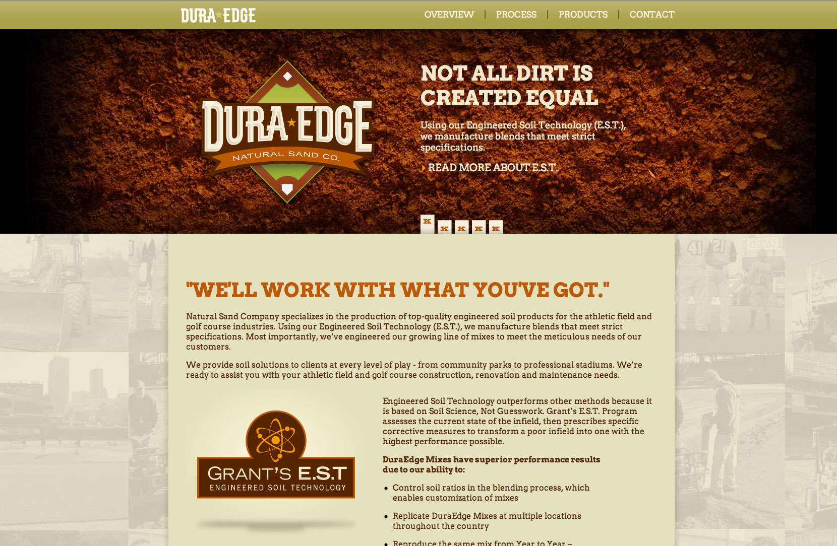 DuraEdge Website Screenshot