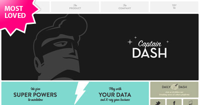 CaptainDash Website Screenshot