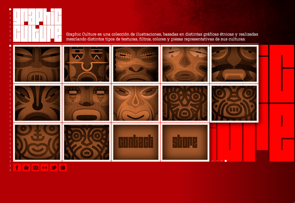 Graphic Culture Website Screenshot