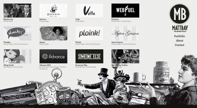 MattBay Website Screenshot