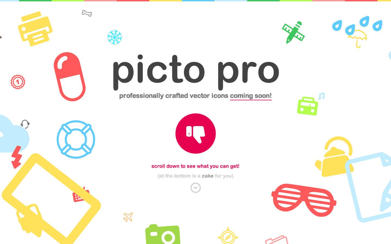 Pictopro Website Screenshot