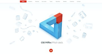 CSS Piffle Pitch Deck Thumbnail Preview