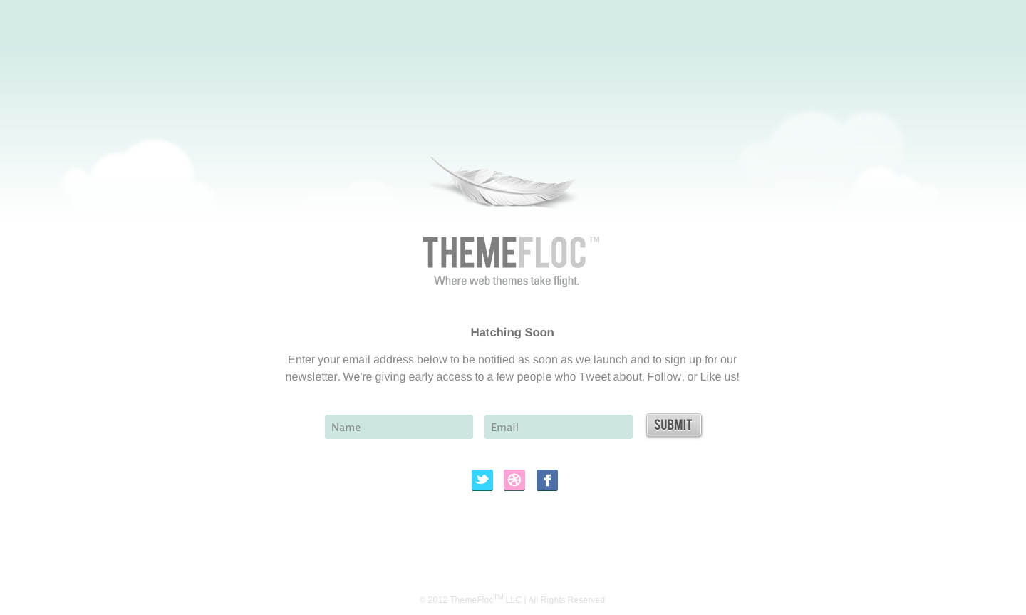 ThemeFloc Website Screenshot
