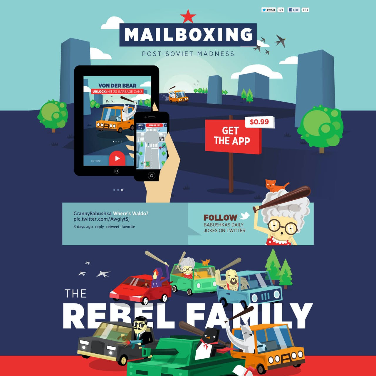 Mailboxing Website Screenshot