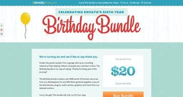 Envato Birthday Bundle 2012 Thumbnail Preview