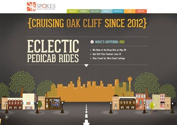 Spokes Pedicabs Thumbnail Preview
