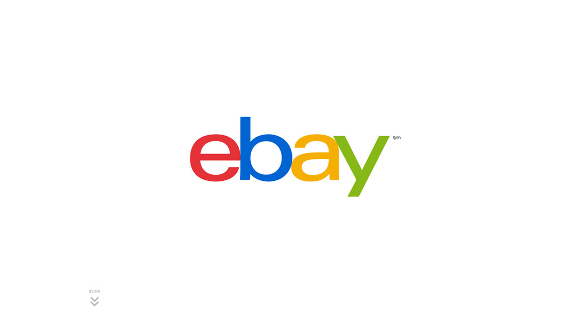 eBay New Logo Announcement Website Screenshot