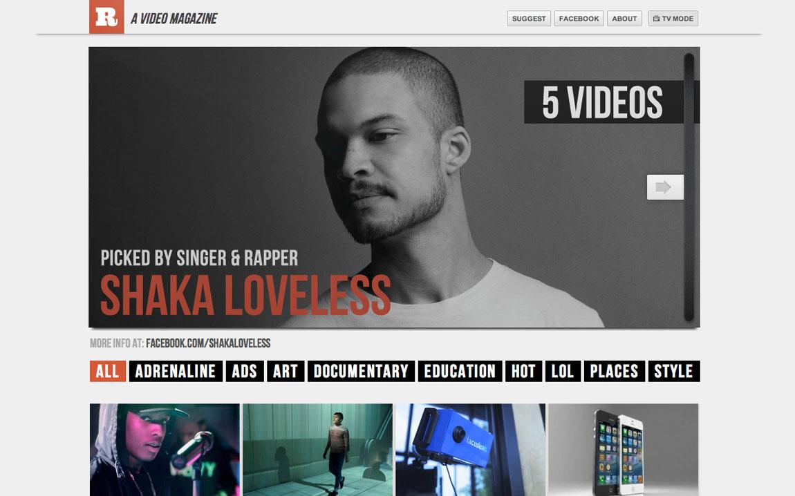 Retelly Website Screenshot